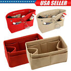 Women Organizer Handbag Felt Travel Bag Insert Liner Purse Organiser Multipocket