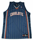 Adidas NBA Basketball Men's Charlotte Bobcats Authentic Jersey, Blue