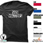 Size Matters Gym Rabbit T-Shirt Workout BodyBuilding Fitness Motivation Tee F299 image