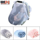 Ventilated Baby Mosquito Net Infant Carriage Child Safety Seat Cover Protector image