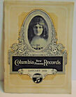 Jan. 1926 Columbia New Process Records Catalog, Columbia Phonograph, 18 Pgs.