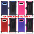 For Samsung Galaxy Note 8 Case Rugged Cover (fits Otterbox Defender Belt Clip)