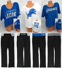 VICTORIA'S SECRET LOVE PINK DETROIT LIONS T-SHIRT SWEATS BLING YOGA PANTS HOODIE $39.99 USD on eBay
