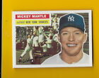 28260 MICKEY MANTE 1996 TOPPS 1956 TOPPS NEW YORK YANKEES CARD #6 ⚾️