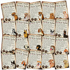 PERSONALISED Dog Breeds Retro Metal Shabby-Chic Tin Sign Wall Plaque xmas gift
