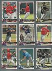 2018 BOWMAN DRAFT PAPER #'s 1-200 ( ROOKIE RC's, PROSPECTS, 1st CARDS) - U PICK!