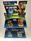 Lego Domensions E.T. And Ghosbusters Slimer Bundle CIB New