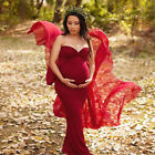 Maternity Long Tube Gown Mermaid Baby Shower Dress for Photography Photo Prop
