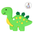 Dinosaur Baby Teether BPA Free Silicone Teething Toy for Newborn Baby Infant