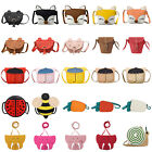 Внешний вид - Baby Kid Girls PU Leather Shoulder Bag Messenger Handbag Crossbody Purse Satchel