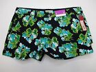 new MERONA SH7535 Women's Size 8 Casual Cotton Canvas Floral Print Midi Shorts