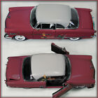 WELLY 1953 FORD VICTORIA MAROON 1/24 DIECAST MODEL CAR UN-BOXED NEW