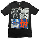 MLB Youth New York Mets Star Wars Main Character T-Shirt, Black on Ebay
