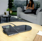 Dual Wireless Charger Dock for iPhone X Qi USBC Charging Mat 3 Inputs -NEW FAST!