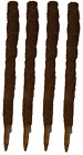 Tall Coir Moss Stick Coco Pole  Coconut Fibre Plant Support 60cm Bulk Buy