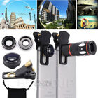 US 10X Zoom Telephoto Camera Lens+Fisheye+Wide & Macro Angle Lens For iPhine X 8