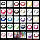 10Mtrs / 6mm Satin Ribbon by Roll - Various Colour / K2-Accessories UK