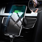 Wireless Car Charger Mount,Automatic Clamping Fast Charger Air Vent Car Phone Xs