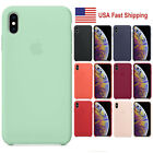 For i Phone XS X Shockpoof Genuine Quality Silicone Case Protective Phone Cover