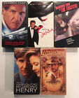 HARRISON FORD - Air Force One - The Fugitive - Indianna Jones - Sabrina + 1 more