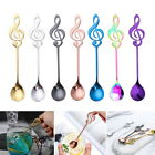 Stainless Steel Music Note Shape Coffee Spoons Tea Stirring Spoon Stylish GIFT