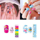 1Sheet/14pcs Anime Lovely  Bear Nail Art Full Decals Wraps Manicure Sticker Gift