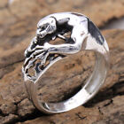 Leopard Animal Charms 925 Sterling Silver Jewelry Unisex Ring All Size