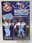 1986 Real Ghostbsters WOLFMAN MONSTER Kenner action figure Mint British UK card