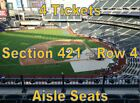 New York Mets vs Atlanta Braves 9/27/19, 4 Tickets, Promo Game on Ebay