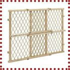 BABYY GATE SAFETY FENCE Infant Position and Lock Wood Door Pet Dog Mesh Guard