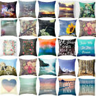 Home Decor Outlet Stores Online 18'' Sea Declaration Cotton Linen Pillow Cases Throw Cushion Cover Pillow Cover Home Decor Crafts To Make