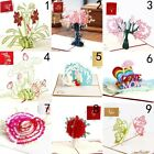 3D Pop up Cards Vintage Theme Greeting Cards Thanksgiving Mother's Day Gift Hot