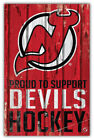 "New Jersey Devils NHL Hockey Car Bumper Sticker Decal ID:1 ""SIZES"" $3.75 USD on eBay"
