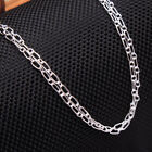 """Solid Link necklace silver Twister chain  925 Sterling Silver jewelry 18, 20,22"""""""