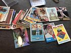 LOT OF 50+ BASEBLL CARDS - MANY STARS AND HALL OF FAMERS - AARON, FINGERS, ++