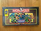 Justice League America Collectors Edition Monpoly game new in Shrink Wrap 1999 v