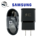 Genuine Samsung Galaxy S10 S9 S8 Note8 Fast Wall Car Charger + Type C Cord Cable