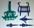 5 VITAGE 1992 GI JOE BATTLE CORPS MUDBUSTER PARTS BUMPER, ROLL CAGE & 3 MISSILES