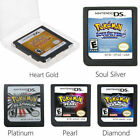 Pokemon Heartgold / Soulsilver Version Game Card Fits Nintendo 3ds Ndsi Ndsll