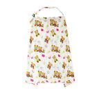 Floral Nursing Cover Apron SOFT Mum Cotton Blanket Cloth New Poncho Multi-use