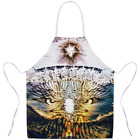 "PUNK Exclusive Original Designer STATEMENT APRON-EAGLE VISION Size:31"" X 35.75"""