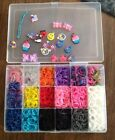 rainbow loom rubber bands lot