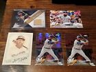 2018 Topps Series 1 Eric Thames Brewers Relic /99 + Chrome Prism Refractor Lot