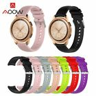 20mm Silicone Watchband for Samsung Galaxy Watch 42mm Version Pink Black Red