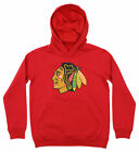 Outerstuff NHL Youth Chicago Blackhawks Primary Logo Fleece Hoodie $30.0 USD on eBay