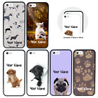 Dogs Personalised Custom Name Case for Apple iPhone 5 5s SE 6 6s 7 8 PLUS X XS