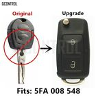 QCONTROL Remote Key Upgraded for SKODA Octavia I 5FA 008 548 for HELLA 434MHz Ca