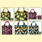 LOQI BAGS SUPER STRONG REUSABLE GROCERY BAG WATERMELON PINEAPPLE NEW