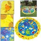 Inflatable Water-filled Sprinkler Pad Splash Play Mat Pool Toy for Infant Chil