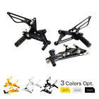 For Triumph Daytona 675 Rearsets Adjustable Footpegs footrest Motorcycle Pedals $95.99 USD on eBay